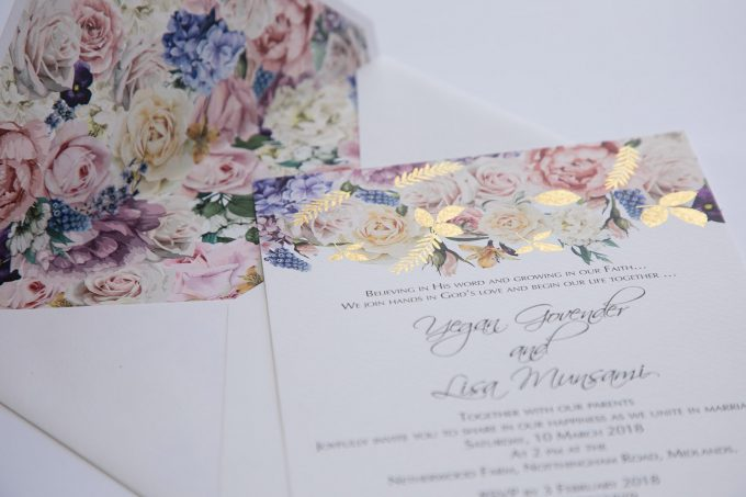 Bespoke Wedding Invitations